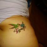 Tatouage Gwada colibri