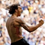 Tatouage Ibrahimovic dragon rouge