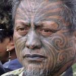 Maori avec tatouage moko