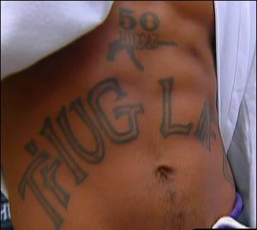 Tatouage Tupac Shakur Tatouage 2 Pac Tattoos De Gangs Gangsta Rap Am 233 Ricain Tattoo