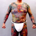 Tatouage intégral des Yakuzas : ventre