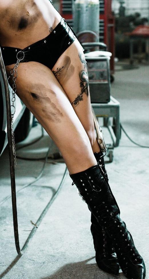 Tatouages de la chanteuse Pink