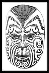 Symbolique et Modèle de tatouage Maori  le Ngakaipikirau