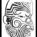 Symbolique et Modèle de tatouage Maori : le Uma