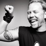 tatouage de James Hetfield sur le biceps