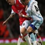 Tatouage de Niklas Bendtner, joueur du Danemark