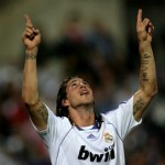 Tatouage de Sergio Ramos joueur de l'Espagne