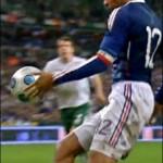 Tatouage de Thierry Henry, joueur de la France