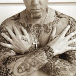 tatouages de James Hetfield de Metallica