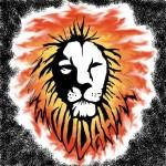 modèle de tatouage de lion style reaggae