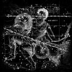 Modèle de tatouage de verseau cosmique