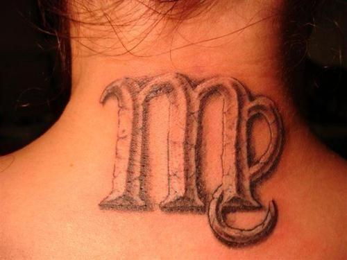 Tatouage Vierge Signe Astrologique De La Vierge Signification Et