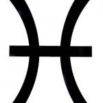 symbole du signe des poissons