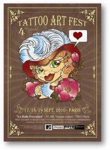 tattoo art fest 2010 salon de tatouage à paris