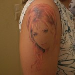 tatouage de fan de mylene farmer