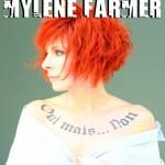 tatouage Mylène Farmer oui mais non