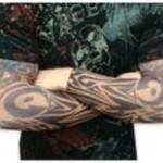 manches de tatouage tribal pour homme