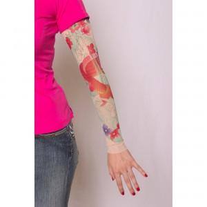 Manches de tee-shirt tatouage pour femme