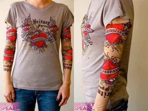 tee shirt manches tatouage faux tatouages sur t shirt manches longues tattoo tatouages com. Black Bedroom Furniture Sets. Home Design Ideas