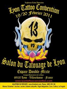 Salon du tatouage de Lyon - Espace Double Mixte