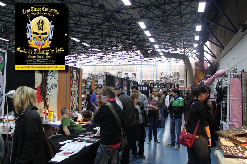 Convention tatouage lyon 2011 compte rendu lyon tattoo - Salon du tattoo paris ...