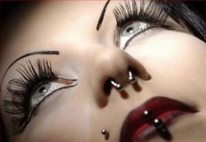 Le piercing pour femme