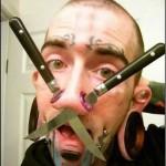 Piercing extrême pour homme