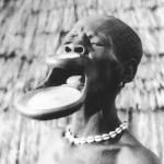 Piercing primitif africain
