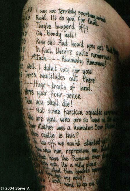 ... homme : modèle de tatouage sur la cuisse | www.TattoO-Tatouages.com