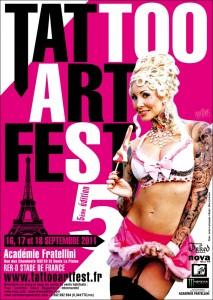 convention du tatouage de paris 5eme édition