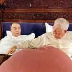 le tatoue louis de funes et Jean Gabin