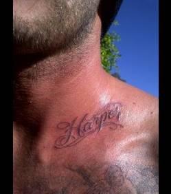 tatouage david beckham