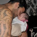 Tatouage bras Maori Piri Weepu des All Blacks