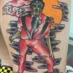 Horrible Tatouage de Michael Jackson