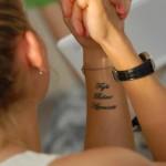 tatouage de ksenia pervak
