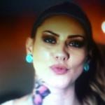 Fanny de secret story 6 : tatouage de papillon dans le cou