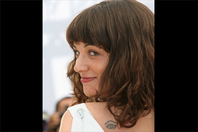 Tatouage Asia Argento Numero 23 Ange Oeil Prenom Tattoo