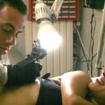 Orlando tattoo, le tatoueur d'Asia Argento