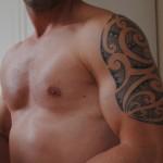 tatouage maori par Lili Street tattoo Rillieux-La-Pape