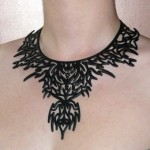 collier tattoo tribal