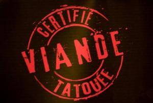 certifié viande tatouée