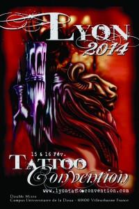 Salon du tatouage de Lyon 2014