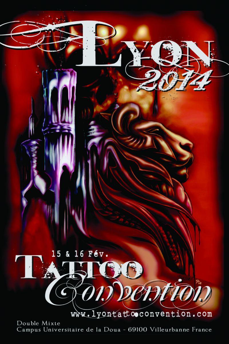 salon du tatouage de lyon 2014 15 et 16 f vrier 2014 l