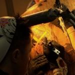 tatouage dos intégral à 4 mains par starasian tattoo : le clou du salon