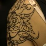 tatouage pailette temporaire