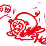 dessin cochon by matteo cascetti
