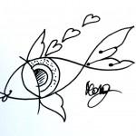 dessin poisson oeil by morg armeni