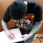dessin scott veldhoen eternal image tattoo calgary canada