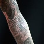 tatouage bras prohibition