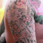 tatouage japonais epaule